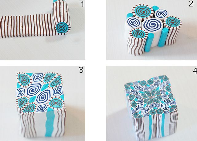 polymer clay tutorials by saranxelana, via Flickr. From easy to complex. #polymer #clay #tutorial