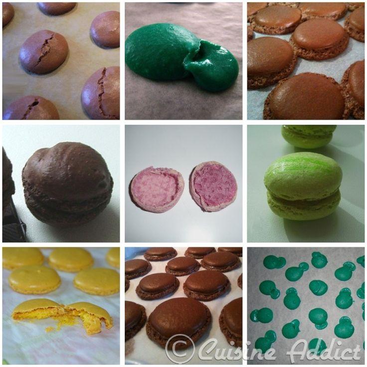 Article précédemment publié sur ilovemacarons.fr le 02/06/2010, mise à jour du 17/05/2012 Les macarons sont de petites choses vraiment capricieuses, la recette en elle-même n'est pas difficile et des macarons, même...