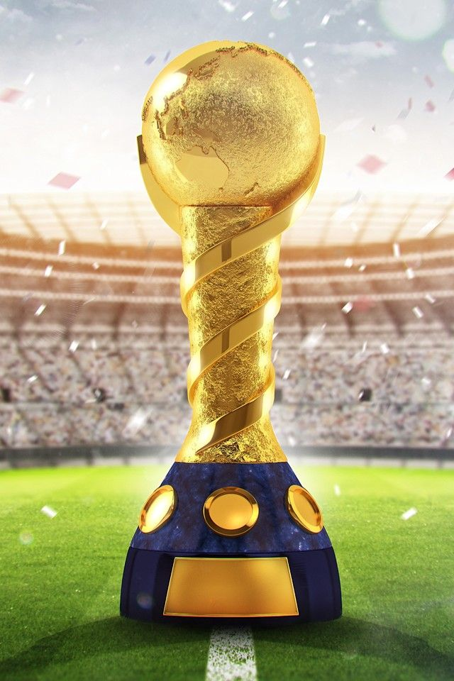 Fifa World Cup Russia 2018 Trophy In 640x960 Resolution Fifa World Cup World Cup Russia 2018 Fifa