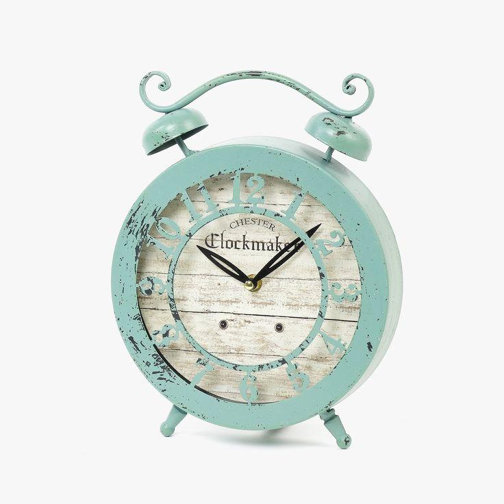 Relógio Chester Azul 29 x 22 x 5 cm | referência 107864826 | A Loja do Gato Preto | #alojadogatopreto | #shoponline