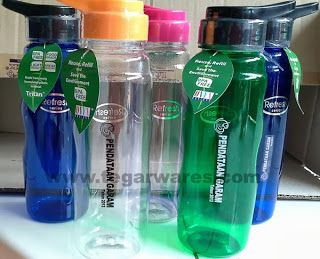 Onyx 750ml. BPA-free water bottle, environmentally friendly, with a cool design and appearance, suitable for a souvenir family day or family gathering your company. Can also be used as a souvenir sports events. We got an order of bottles of this type as much as 300 units of the Ministry of Maritime Affairs and Fisheries of the Republic of Indonesia.