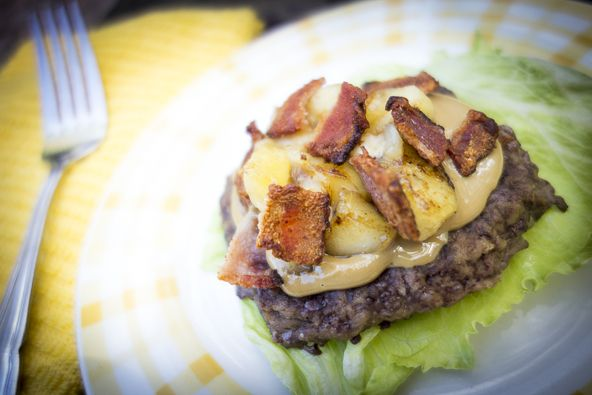 The Elvis Burger from The Clothes Make the Girl and Well Fed 2!