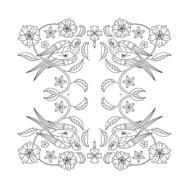 Abstract Arte Asian Background Fronteira Circulo Para Colorir Decoracao Decorativa Design As Doodle Desenhado Elegante Mehndi Aquarela Floral Estilo Oriental