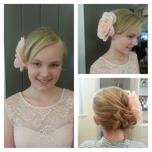 Graduation hair #formal #upstyle