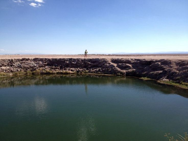 Ojos del salar, son dos y hermosos!, San Pedro de Atacama, Chile