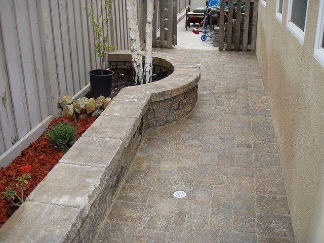 narrow side yard | Backyard makeover, Side yard ... on Narrow Side Yard Landscaping id=45021