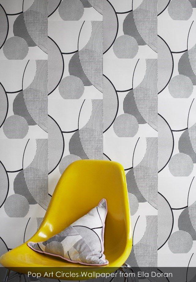 Pop Art Circles Wallpaper from Ella Doran