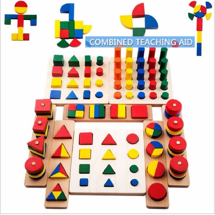 2017 Top Brand Children Toy 8 Ways Playing Baby Wooden Building Block Early Educational Toys Intellectual Geometry Happy Toy