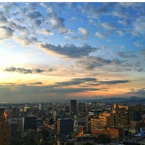 La mas hermosa vista de Bogota D.C