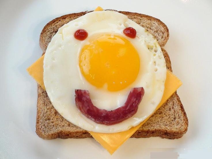 здесь картинки завтрака прикольные это тип