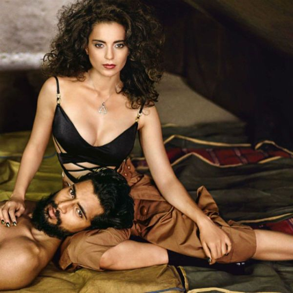 #LatestUp Have a look at Tanu Weds Manu Returns​ actress Kangana Ranaut​'s #photoshoot for Vogue​! With her unprecedented aura and style, stunning Kangana never fails to impress us!  What do you think? #Kangana #Hot #Sexy Follow this link to check out the full album- https://www.facebook.com/JabongWorld?fref=ts