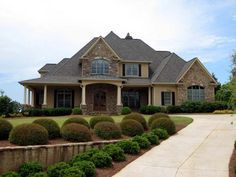 House Plan 50248   European Hillside Plan with 4012 Sq. Ft., 4 Bedrooms, 5 Bathrooms, 2 Car Garage at family home plans