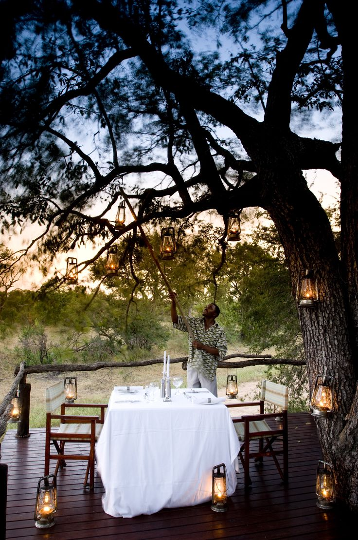 5. INTO THE WILDS AND BEYOND. Africa's wild places offer tranquility and comfort in equal measure: Ngala Tented Camp in the Timbavati #Africa #Kruger #Romance #Engaged #proposal