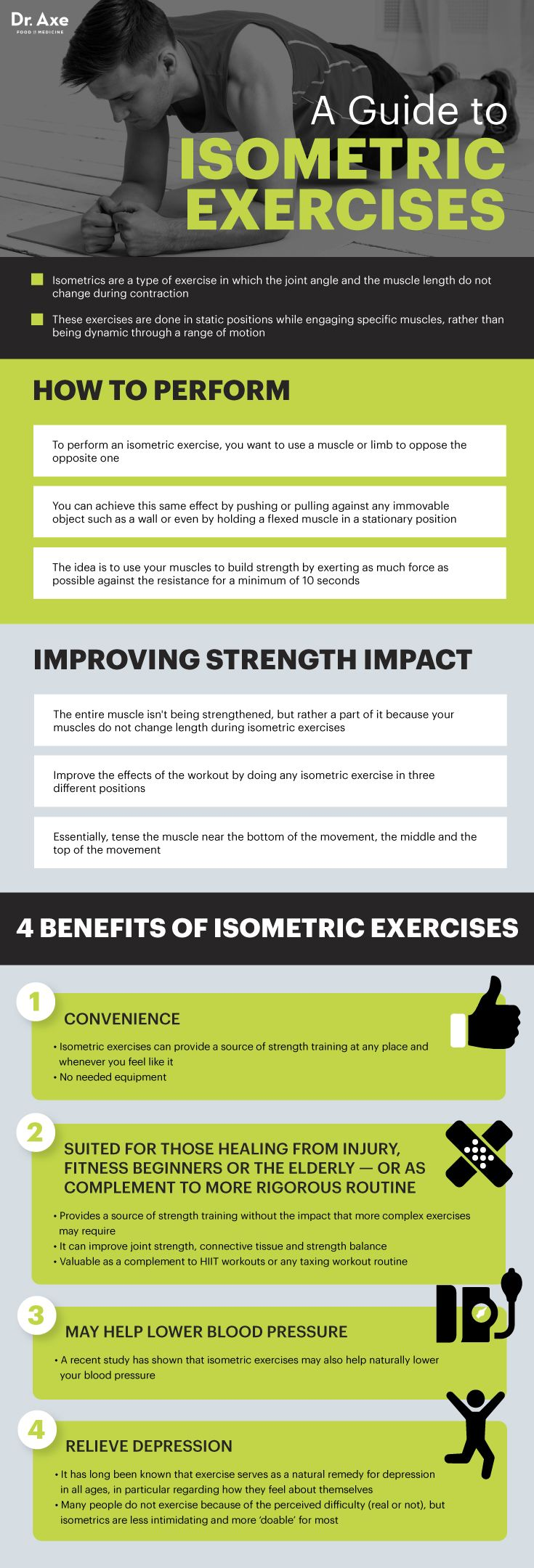 Why Isometric Exercises Belong in Your Exercise Routine - Dr. Axe
