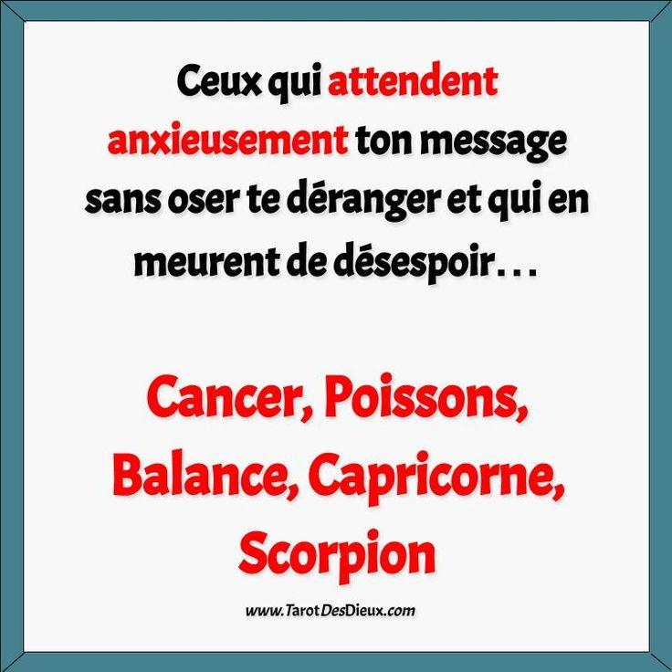 #horoscope #voyance #cancer #poissons #balance #capricorne #scorpion #amour