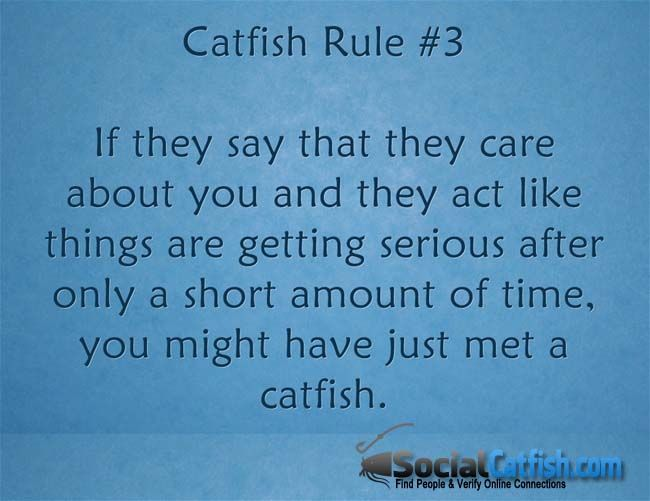 Rule #3 - 12 Signs That You Might Be Getting Catfished Online | SocialCatfish.com