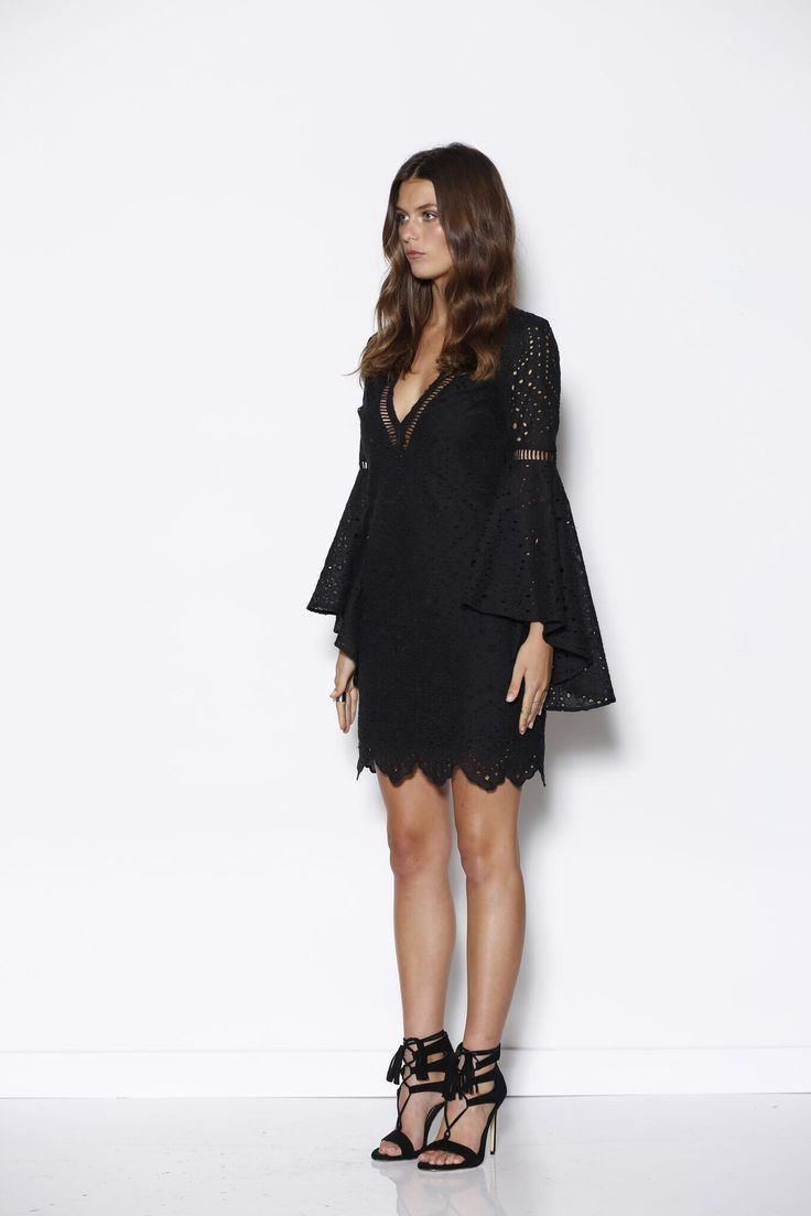 Ministry of Style - Marrakech Midi Dress - Black