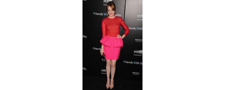 A la première new-yorkaise du film Friends With Benefits, l'actrice américaine portait un ensemble de la collection automne-hiver 2011-2012.