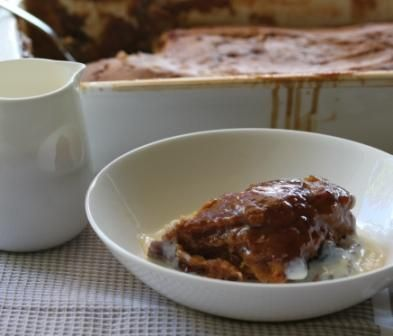 BUTTERSCOTCH SELF SAUCING PUDDING  Cake;    100g dark brown sugar    200g butter    2 eggs    400g SR flour    40g golden syrup or pure maple syrup    Sauce;    200g dark brown sugar    2 tbsp cornflour    600g boiling water