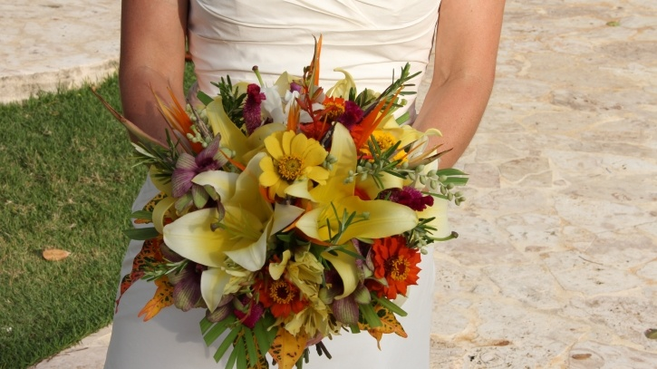 Fun and Tropical bouquet