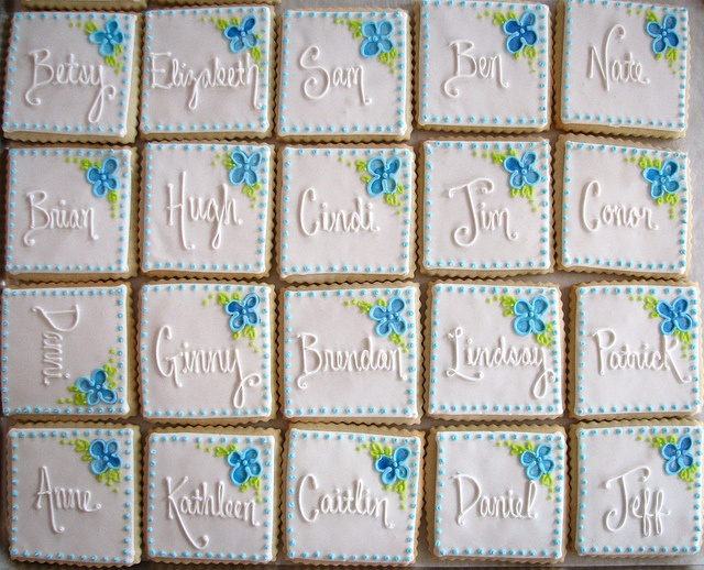 Place Card Cookie Favors