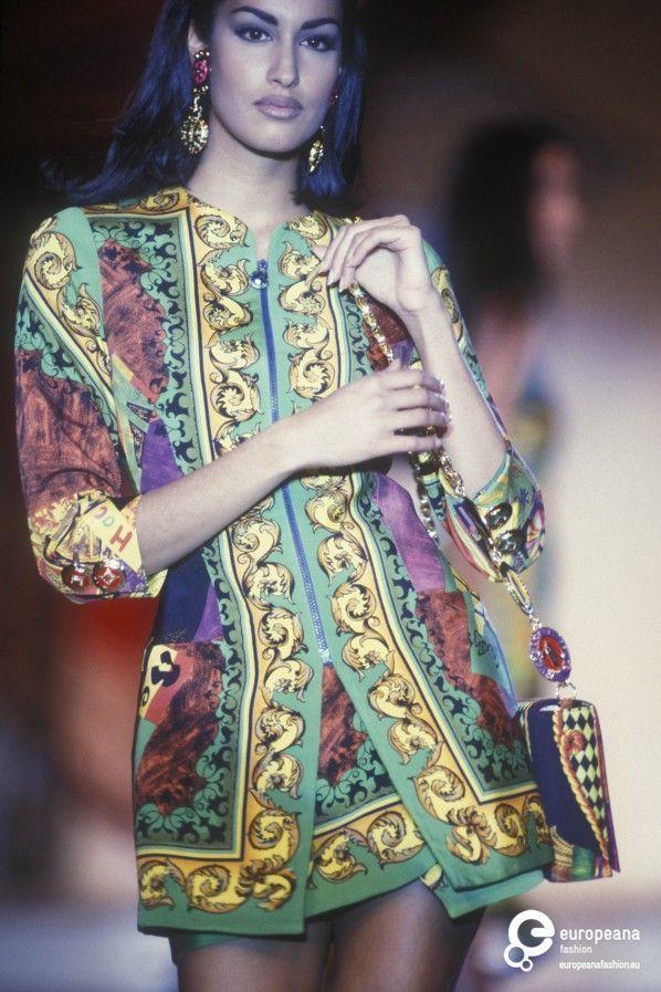 plus size fancy dress 90s versace