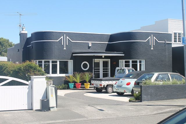 Art Deco house, Boulcott, Lower Hutt, NZ | Deco Danny, Flicker | Christopher Biggs - Art Deco