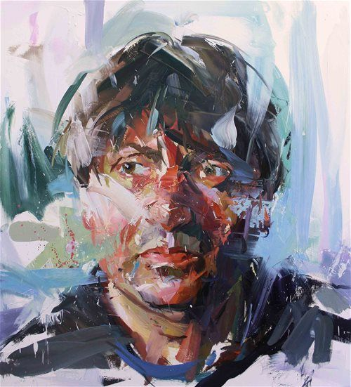 Simon Armitage - Selected for the BP portrait award exhibition 2014, Paul Wright