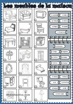 Les meubles de la maison