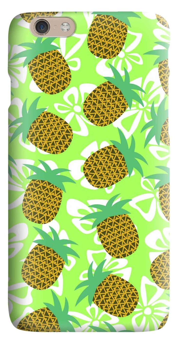Whatskin DIY Style Lovely Pineapples Hard Back Cover for iphone 6