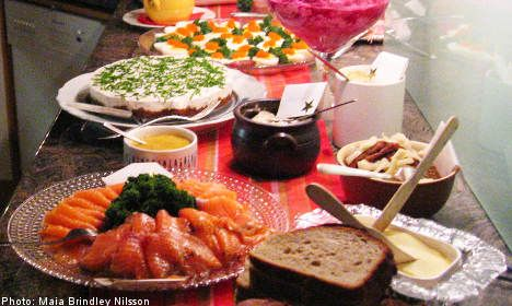 No Swedish-style Christmas is complete without a <i>julbord</i> buffet. <a href=http://semiswede.com/ target=_blank>Food blogger</a> <b>Maia Brindley Nilsson</b> takes a look at what goes into making the perfect Swedish Christmas meal.