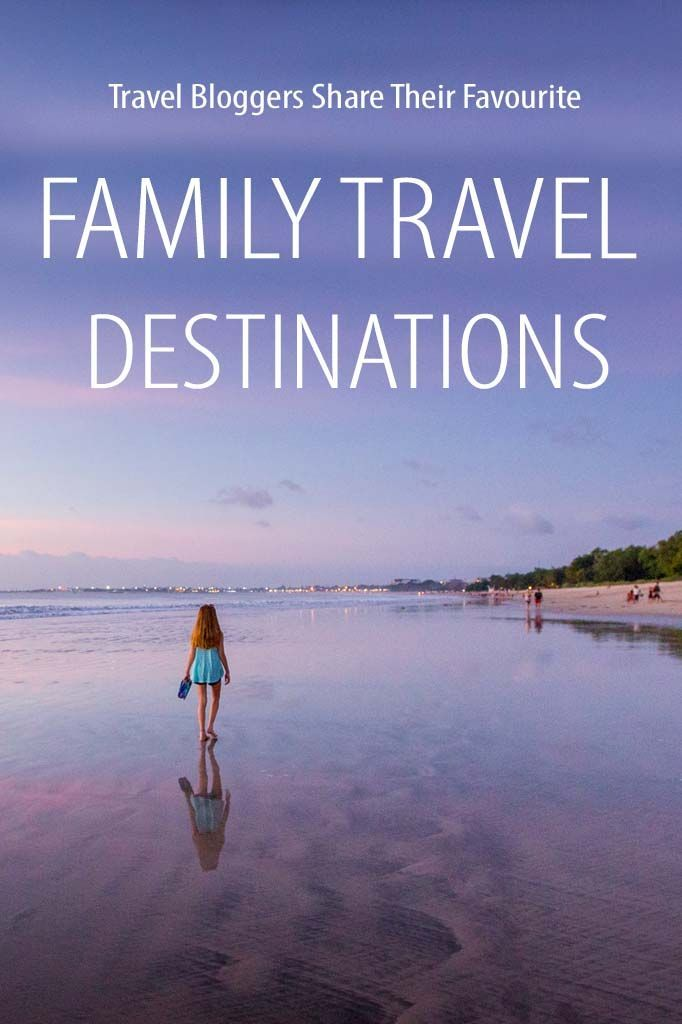Best family travel destinations by your favourite family travel bloggers. Find inspiration for your next family vacation!