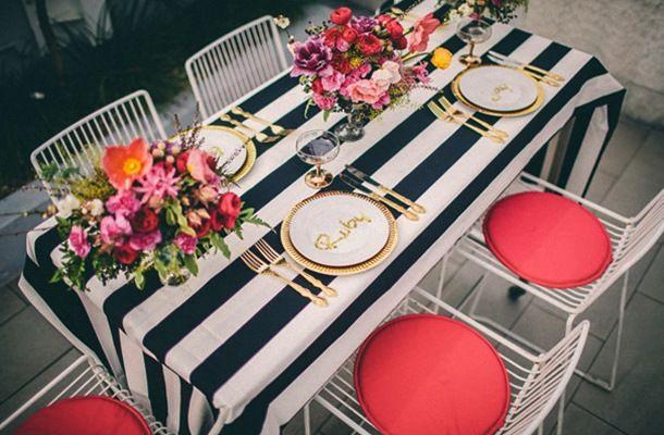 Festa no Terraço, decoração rosa e preto, wedding, party decor, romantic decor