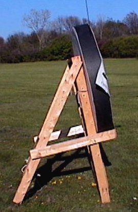 Archery Target Stand Plans | DIY Woodworking Projects, Plans ...