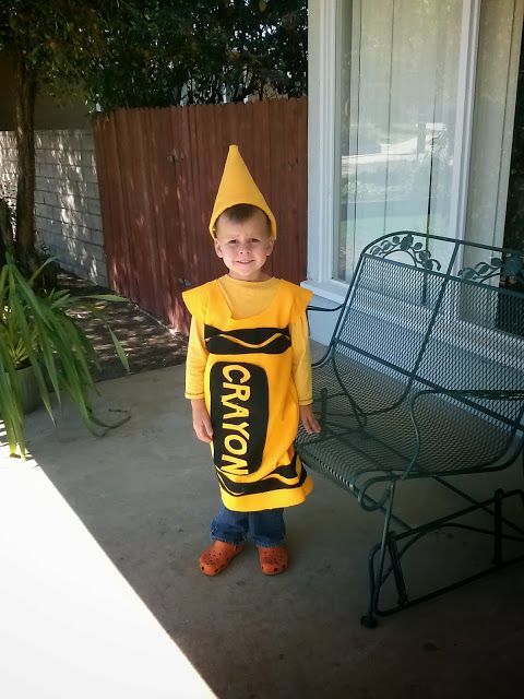 Diy crayon costume for less than 5 halloween costumes for 9 year old boy halloween costume ideas