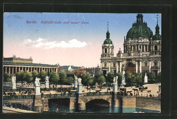 Pin Auf Berliner Dom 1894 1905 Von Julius Raschdorf An Stelle Des Alten Doms Von Schinkel Erbaut