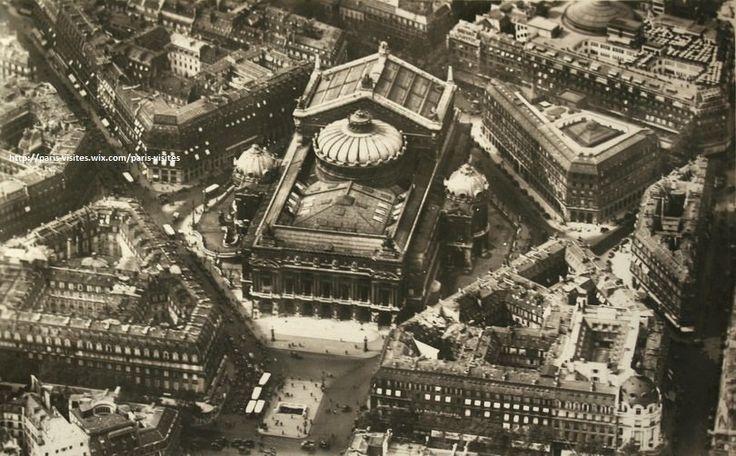 Le quadrilatère de l'Opéra Garnier.1920.
