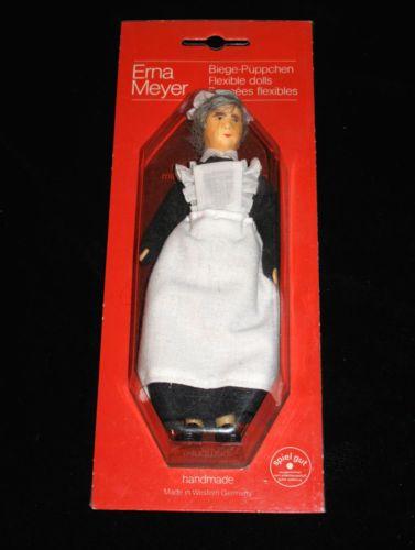 Vintage-Erna-Meyer-VICTORIAN-MAID-WOMAN-DOLL-Flexible-Doll-NIB-WEST-GERMANY