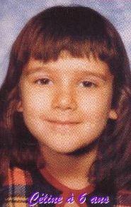 Celine Dion at age 6 #celebrity