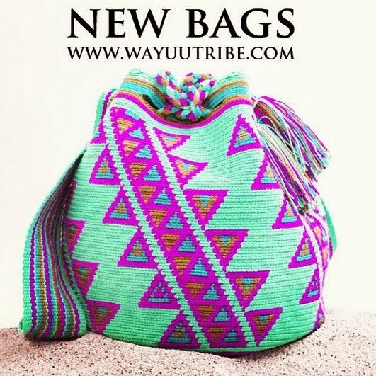 Coisa Phynna por Mille Vitória: Bolsas Wayuu - Tô Começando a Gostar!