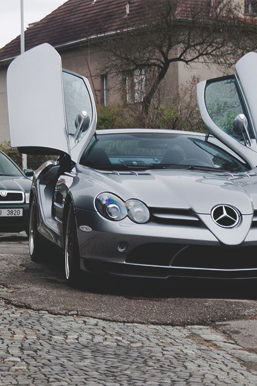 Mercedes SLR McLaren This car and these type things are way way better in Heaven, not here in this short time. So many needs here, help others.