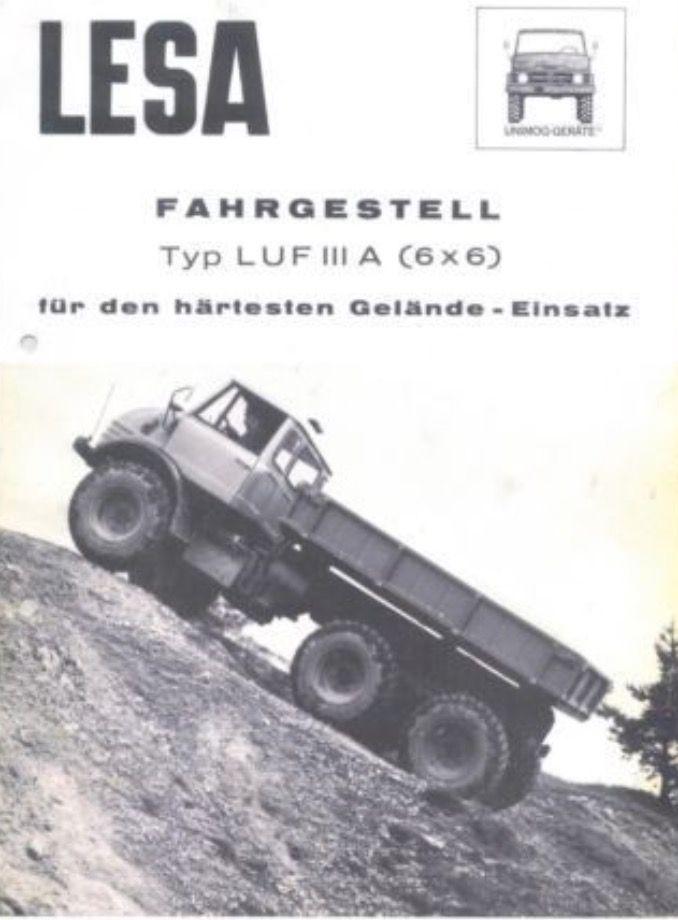 Unimog 416 6x6