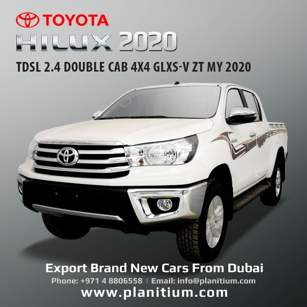 2020 Toyota Hilux 2 4 Diesel Manual Double Cab 4x4 Glxs V Pickups Toyota Hilux Toyota 4x4