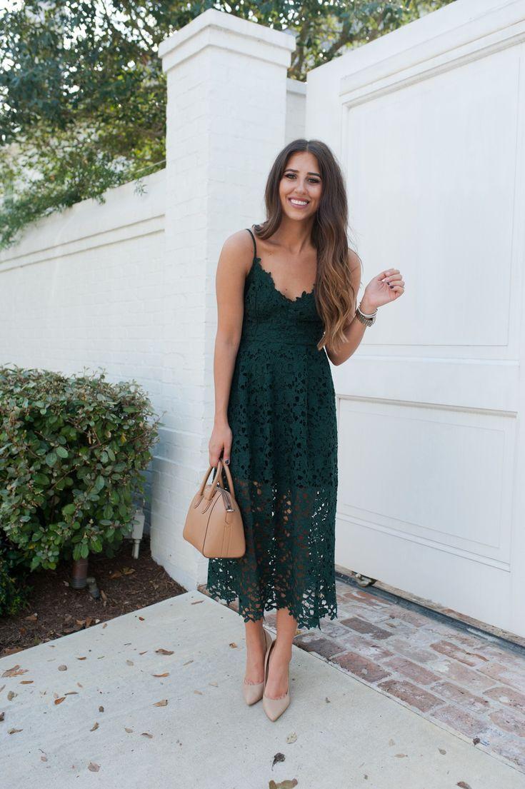 Lace Midi Dress 13