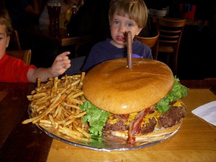 The BurgerGuyz annual Badurik's Butcher Block Meat 16 Cheeseburger Challenge begins