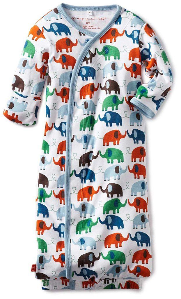 f9a58ef5d Magnificent Baby Baby-Boys Newborn Elephant Gown | Sleepwear ...