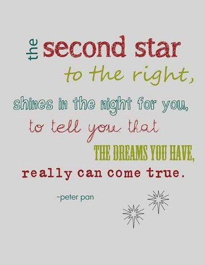 famous peter pan quotes -- Find the perfect quote from our hand-picked collection of inspiring words and share the best motivational words collection. Positive thoughts, great advice and ideas. #quote #Life #inspiration #motivation