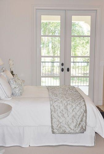 French doors - balcony off master bedroom