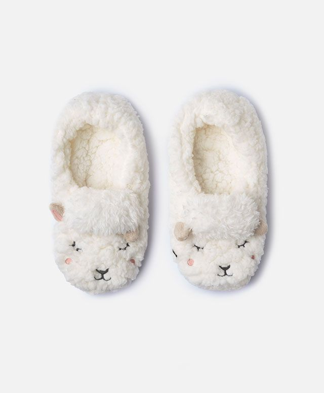 Little sheep slipper booties - View All - Autumn Winter 2016 trends in women fashion at Oysho online. Lingerie, pyjamas, sportswear, shoes, accessories, body shapers, beachwear and swimsuits & bikinis.