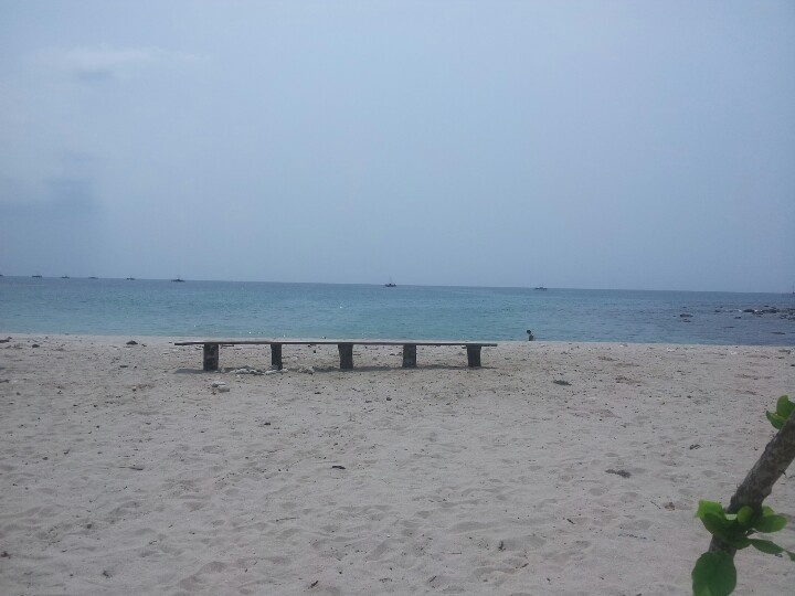 Beach of banten provence,indonesia
